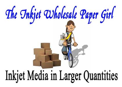 The Inkjet Wholesale Paper Girl